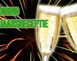 5 januari: Nieuwjaarsreceptie